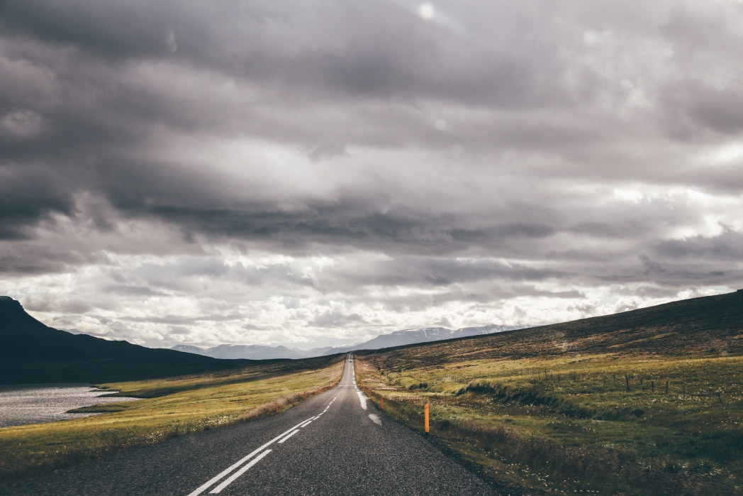 Straße in Island