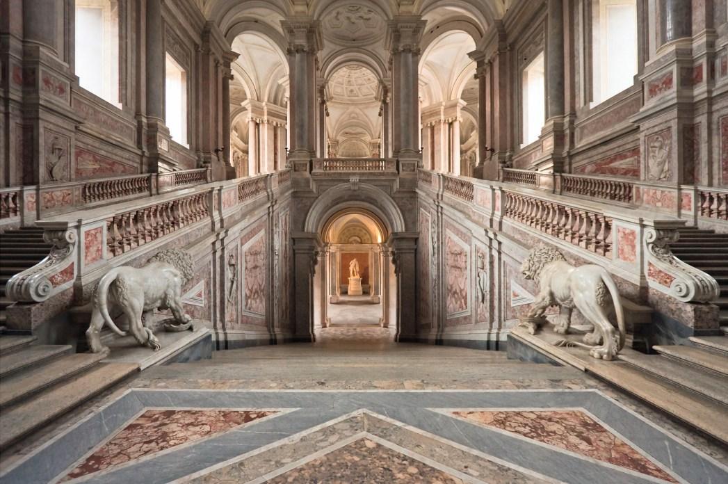 Star Wars Drehorte: Palazzo Reale Caserta