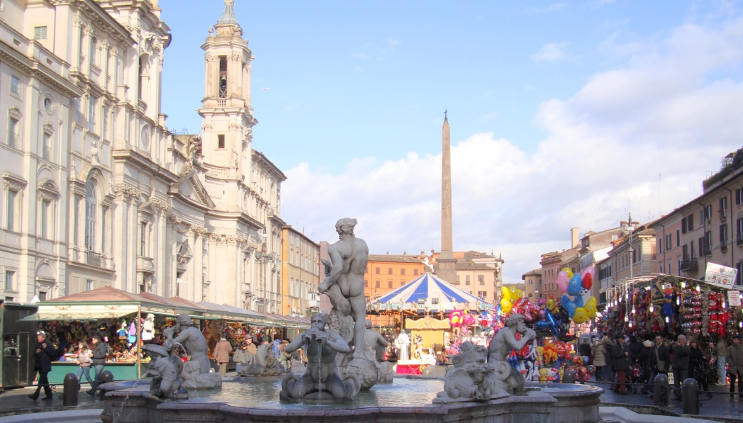 Piazza Navona Weihnachtsmarkt