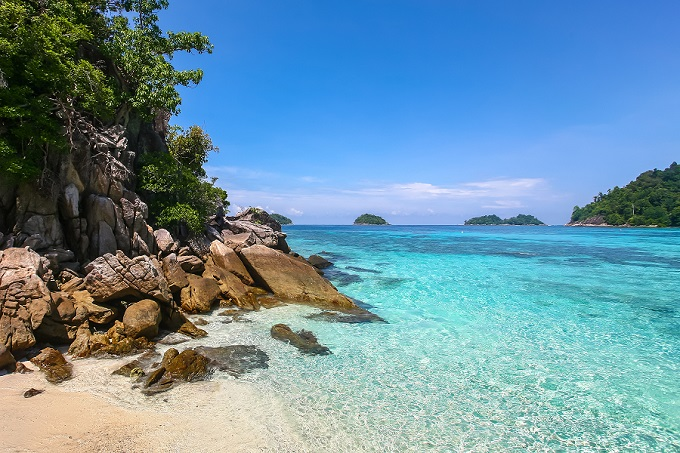 10 unberührte Inseln in Thailand: Koh Li Pe