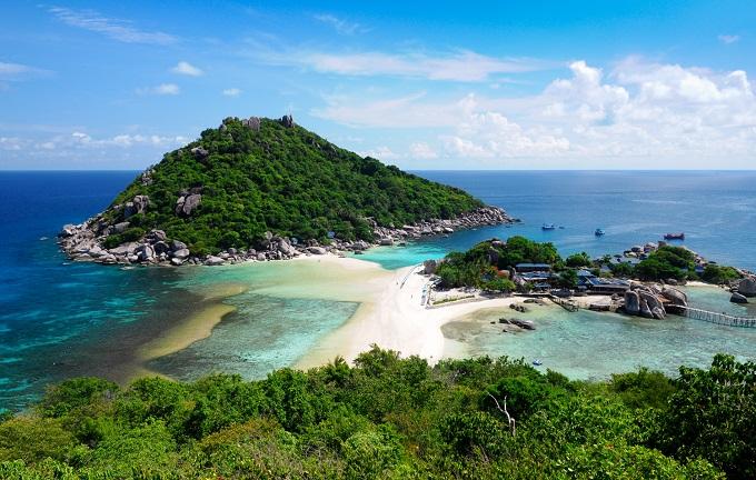 10 unberührte Inseln in Thailand: Koh Nang Yuan