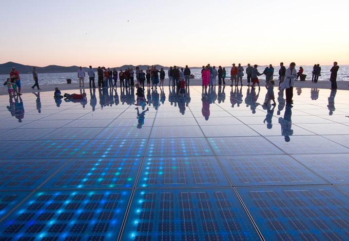 Kunstinstallation Zadar Meeresorgel