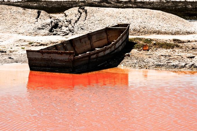 Außergewöhnlich schöne Orte: Retba See, Senegal