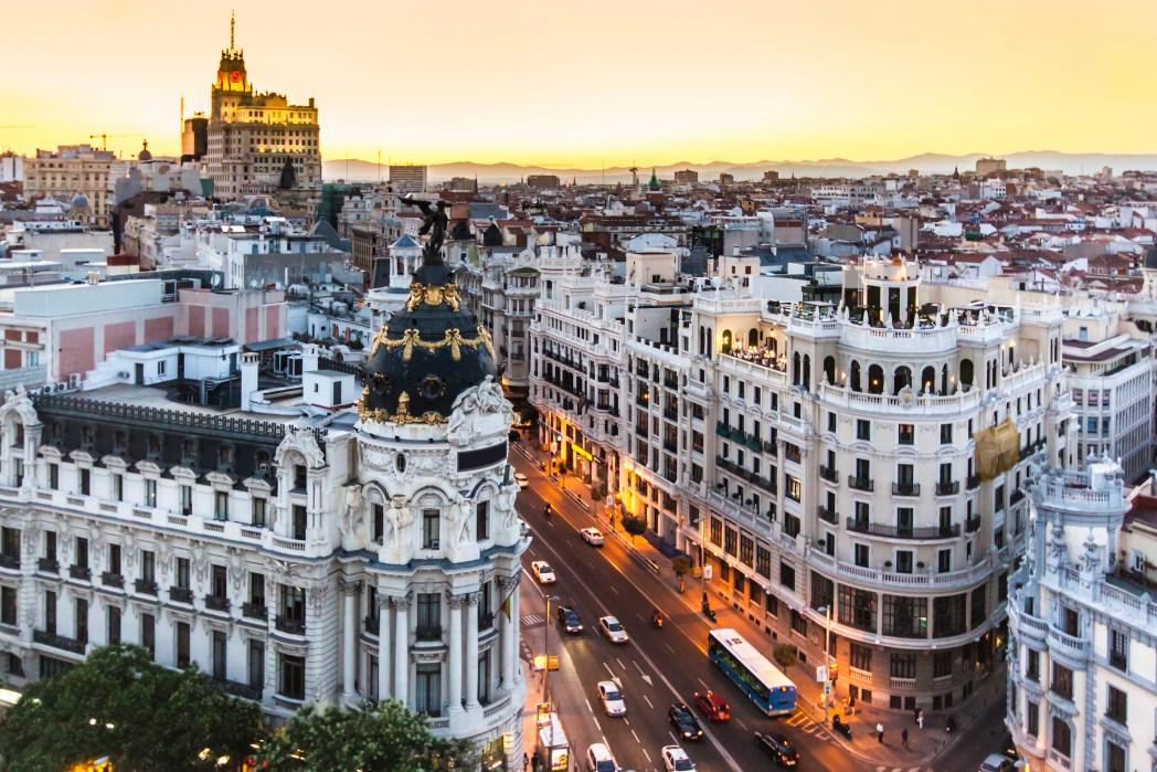 Top-Sehenswürdigkeiten in Madrid: Die Gran Vía