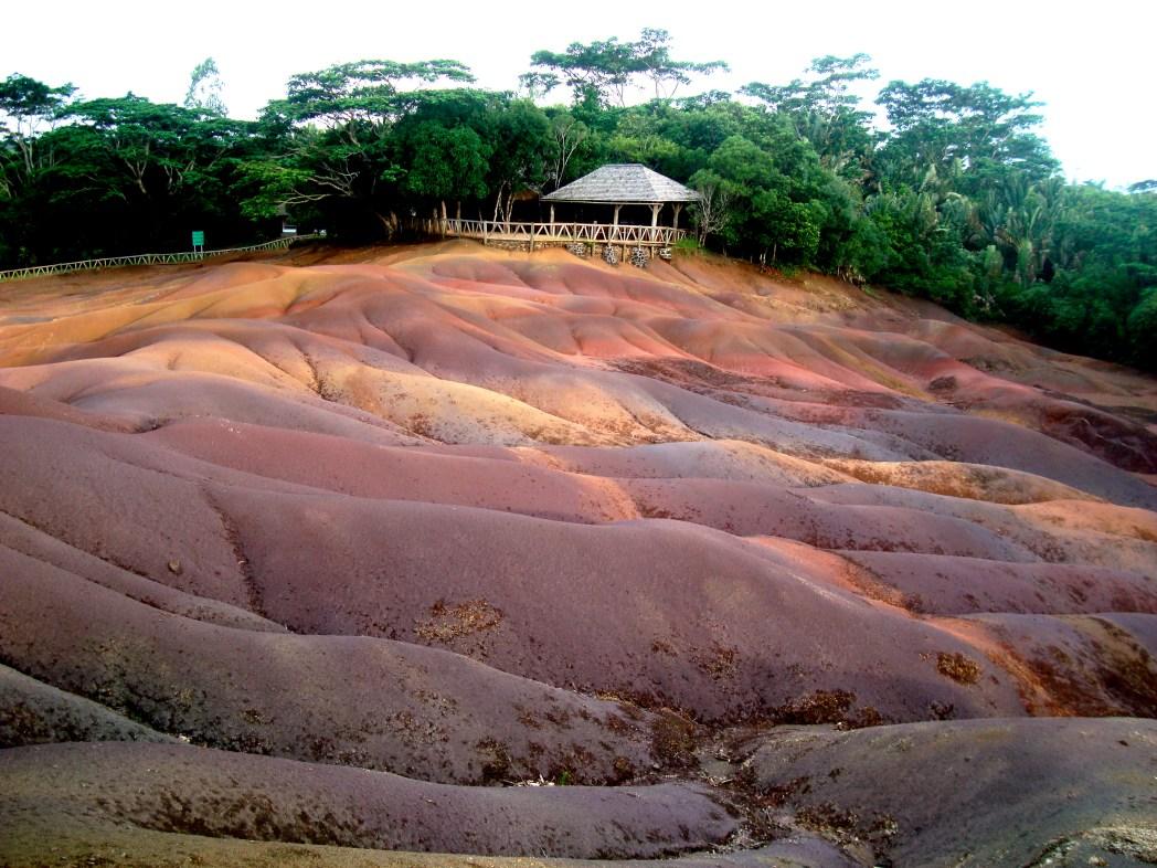 Siebenfarbige Erde Mauritius