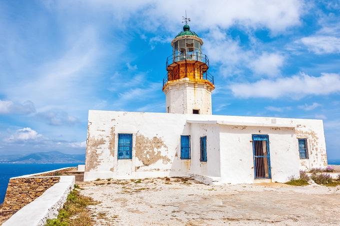 Sehenswürdigkeiten auf Mykonos: Armenistis Leuchtturm