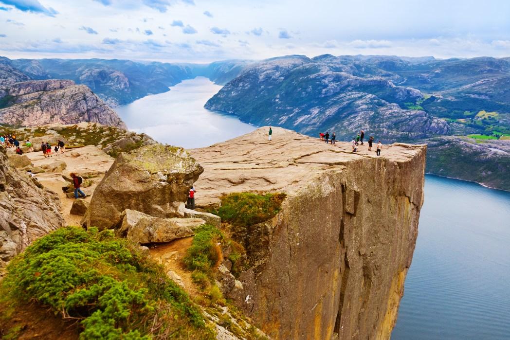 Sehenswürdigkeiten in Norwegen: Preikestolen