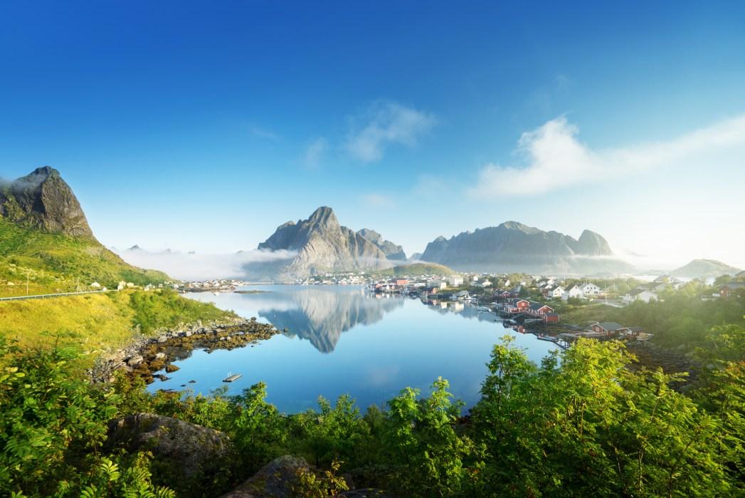 Sehenswürdigkeiten in Norwegen:   Angeln in den Lofoten