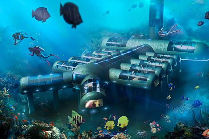 Ebenfalls noch in Planung: Planet Ocean Underwater Hotel