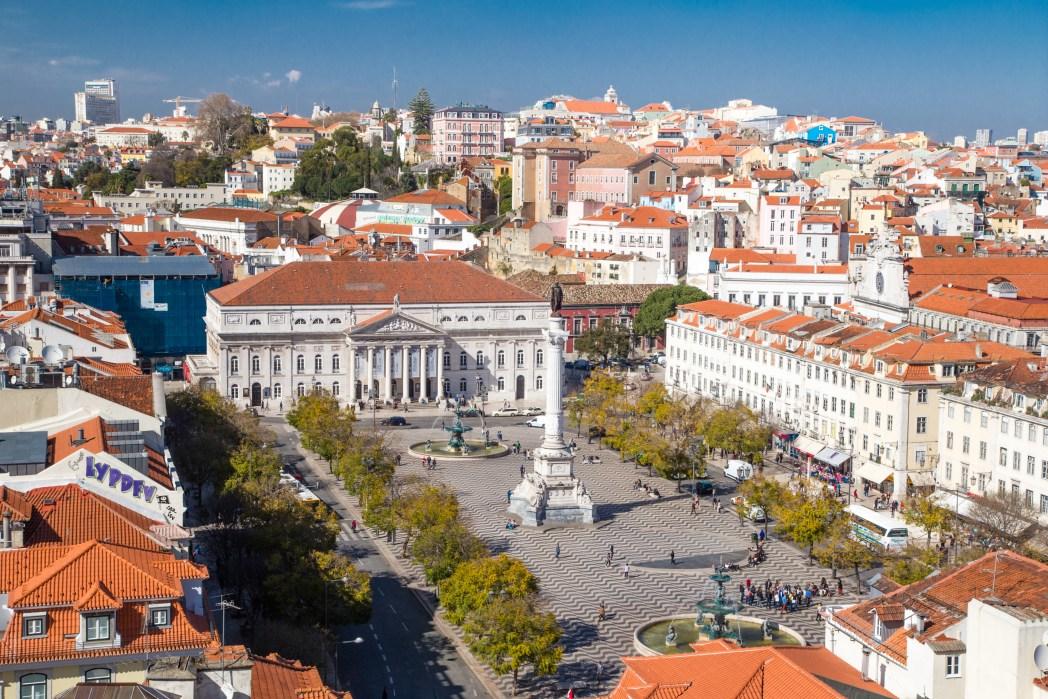 Rossio, Praça de D. Pedro IV, Lissabon