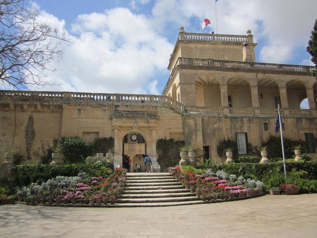 Game of Thrones Drehorte in Malta: San Anton Palace – Red Keep