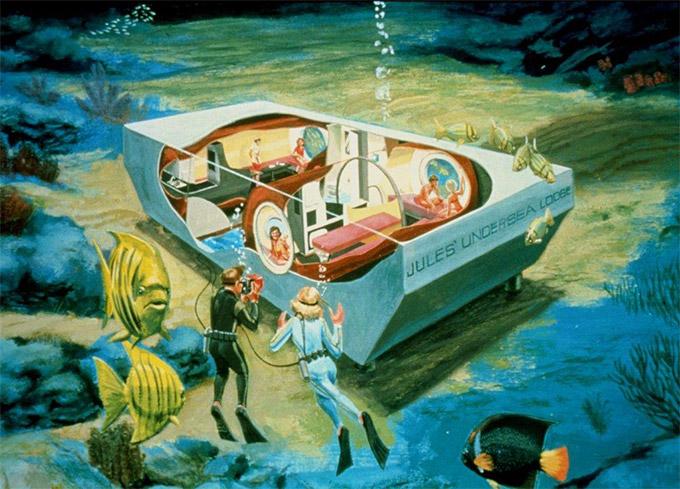 Auf den Spuren von Jules Verne: Erstes Unterwasserhotel