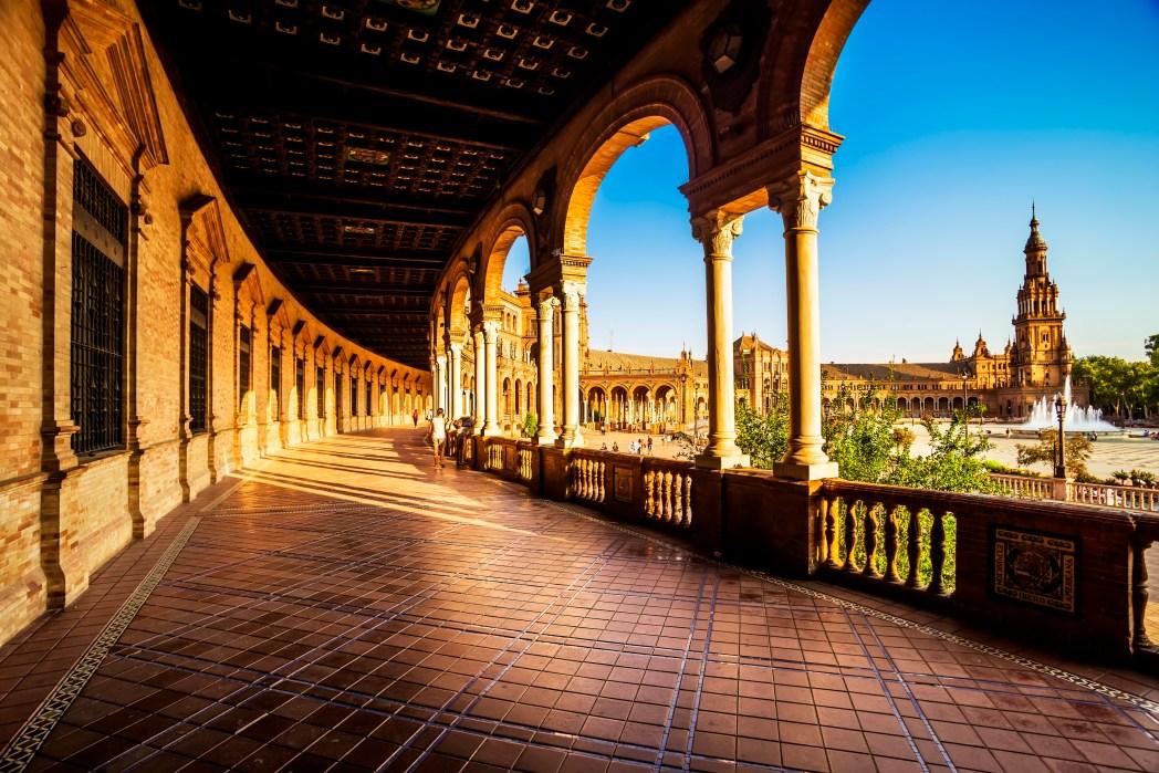 Star Wars Drehorte: Plaza de España Sevilla