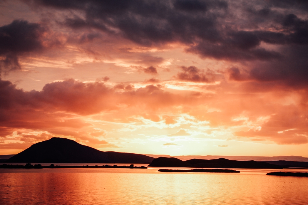 Mývatn See